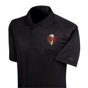 ASP TRAINER POLO TSHIRT BLACK