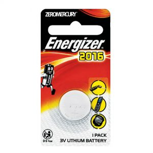 ENERGIZER 2016 3V COIN BATTERY