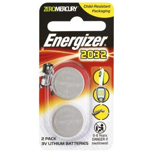 ENERGIZER 2032 3V COIN BATTERY /2