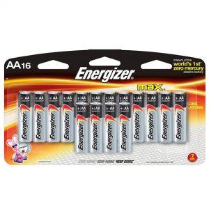 ENERGIZER AA 16 PACK ALKALINE