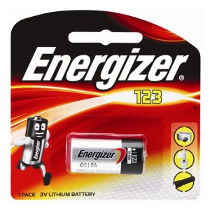 ENERGIZER SPECIALTY LITHIUM CR123