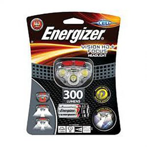 ENERGIZER VISION HD PLUS FOCUS HEADLIGHT