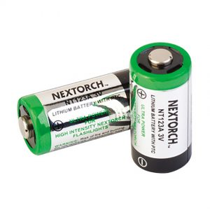 NEXTORCH CR123A SPECIALTY LITHIUM BATTERY