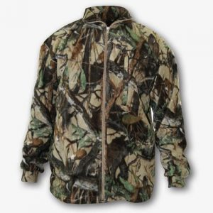 SNIPER 3D FLEECE ZIP TOP