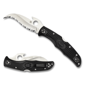 SPYDERCO MATRIARCH 2 EMERSON SILVER SERRATED