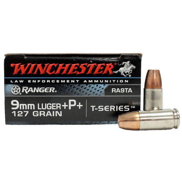 WINCHESTER 9MMP 127GR TSERIES +P+ /50